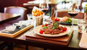 Steakhouse 21 – Speise