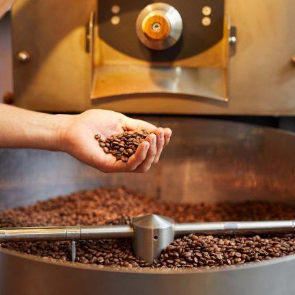 Café 21 – Röstmaschine