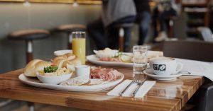 Café 21 Frühstücksmenü