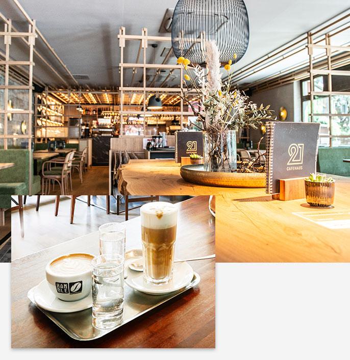 Cafe 21 in Dornbirn
